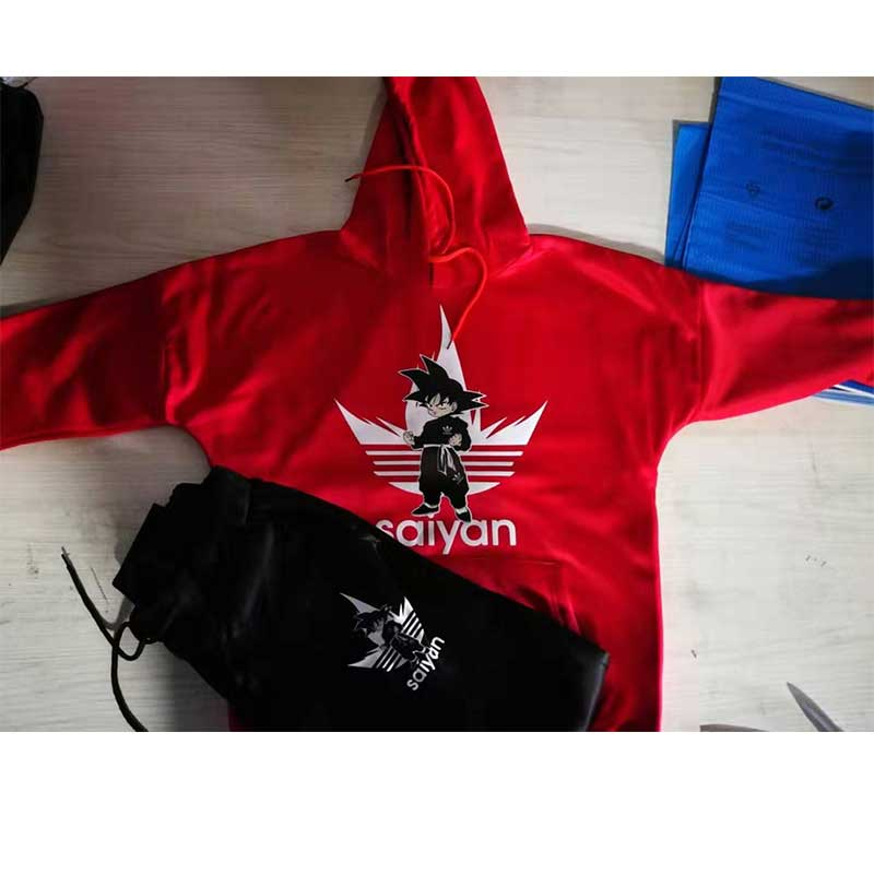 SAIYAN Men's Sets drop shipping hoodies+Pants