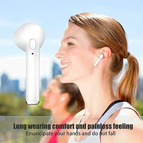 I7 TWS Portable Mini Wireless Bluetooth Earphone In-Ear Stereo Music Earbuds Earphone With Charging Case For iPhone Samsung