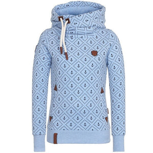 new Autumn Winter Women fleece hooded Hoodies Sweatshirt Pockets Pullovers Plus Size 5XL Loose Casual Long Sleeve Tracksuit coat