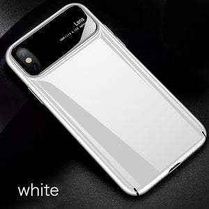 Frosted Ultra-thin Light Bumper Case For iPhones