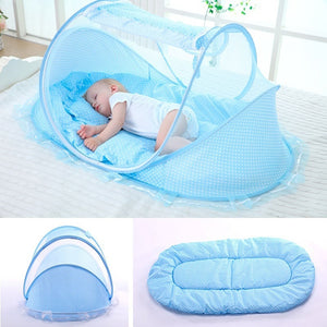 Portable Foldable Baby Bed Mosquito Net Polyester Newborn Sleep Bed Travel Bed Netting Play Tent Children portable baby bed-40