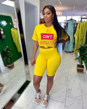 Plus Size Two Piece Short Set for Women Summer Gym Sport Crop Top Biker Shorts Set Matching Sets Track Suit Women Tracksuit Set