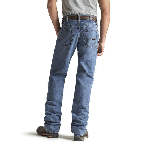Ariat Men's FR M3 Loose Basic Stackable Straight Leg Jean