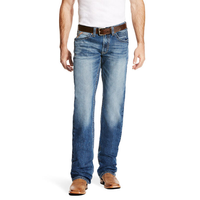 Ariat Men's M5 Slim Stretch Stillwell Stackable Straight Leg Jean