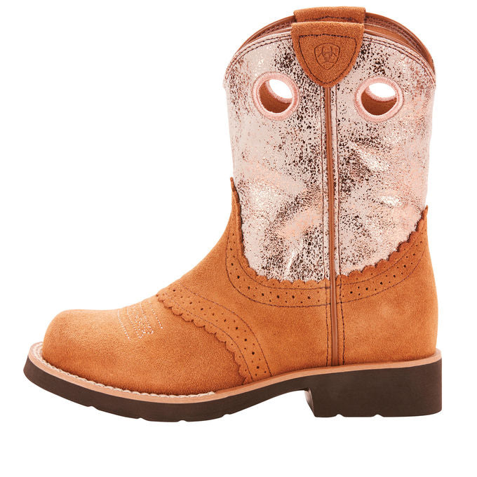 Ariat Kid's Fatbaby Cowgirl Western Boot