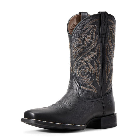 Ariat Men's Sport Herdsman Western Black Boot