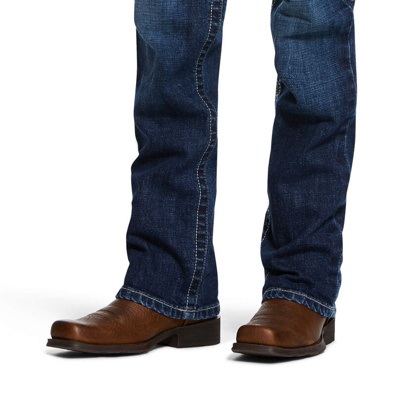 Ariat Boy's B4 Relaxed Stretch Robbie Boot Cut Jean