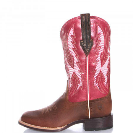 Women's Ariat VentTek Blackjack Boots In Pink