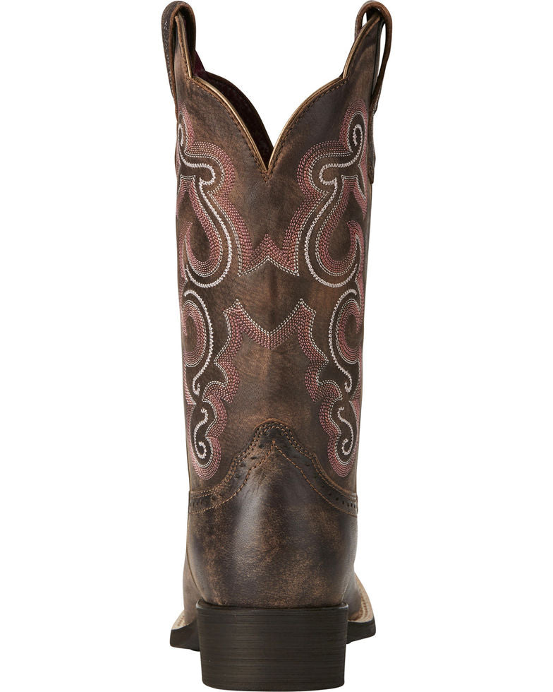 Ariat Women's Quickdraw Square Toe Western Boots