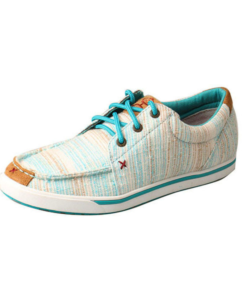 Twisted X Women's Hooey Blue Multi Lopers