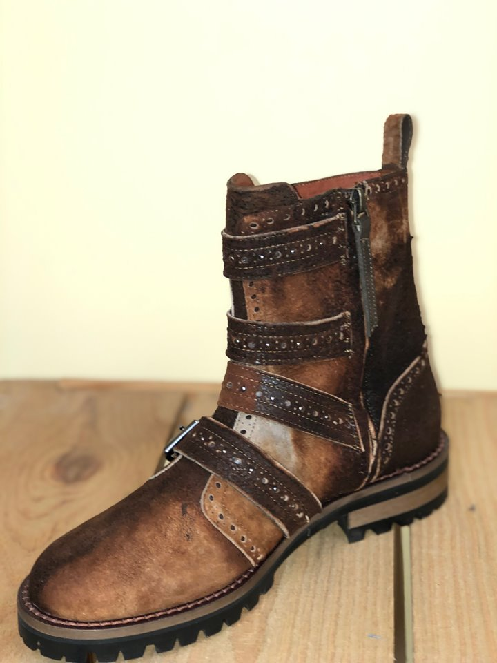 Corral Heritage Brown Lamb Buckle Boot