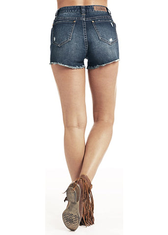Rock & Roll Cowgirl High Rise Shorts