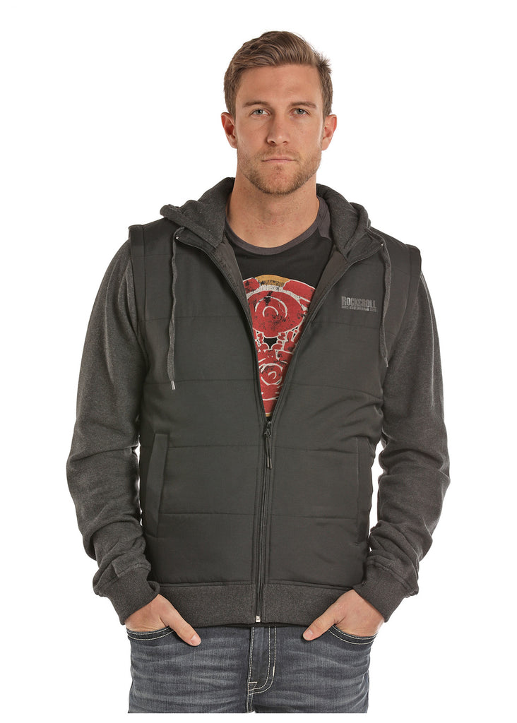 Rock & Roll Cowboy Sweatshirt Hoodie Jacket