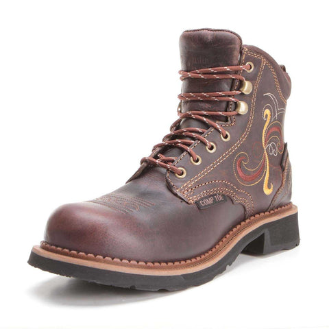 Justin Women's Waterproof Composite Toe Work Boots