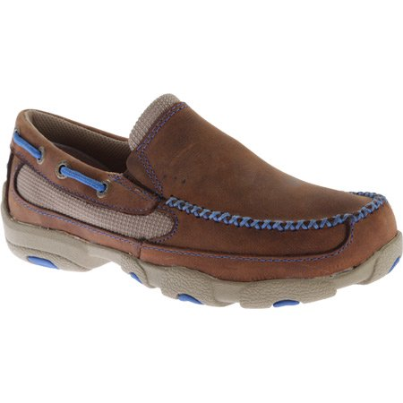 Twisted X Kid's Slip-on Driving Moccasin
