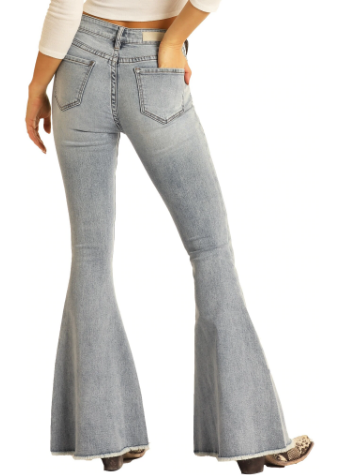 Women's Rock & Roll High Rise Bell Bottoms