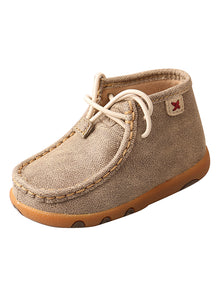 Infant/Toddler Driving Moccasins – Dusty Tan