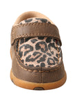 Twisted X Infant/Toddler Driving Moccasins – Bomber/Leopard