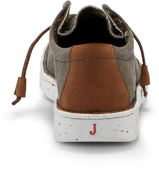 Justin Men's Canvas Wallabee Ash Shoe