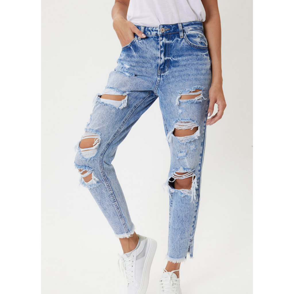 Women's Kancan High Rise Distressed Jeans