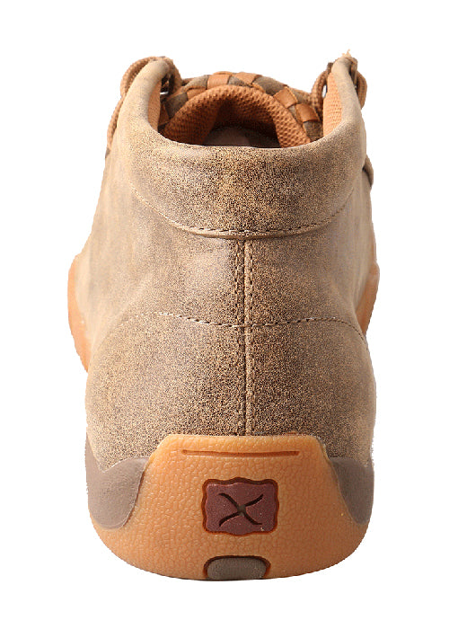 Twisted X Men's Bomber with Tan Check Mocs