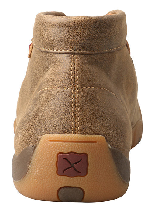 Twisted X Men's Bomber with Tan Stitch Mocs