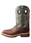 Twisted X Men's Alloy Toe Lite Western Work Boot Waterproof