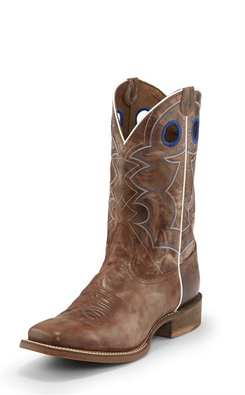 Nocona Men's Tan El Paso Square Toe Western Boot