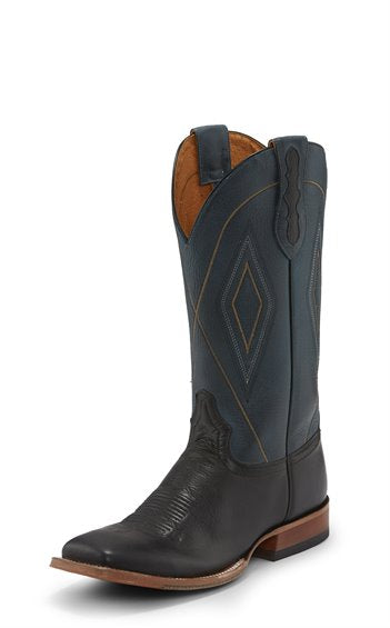 Tony Lama Men's Jasper Black Square Toe Boots