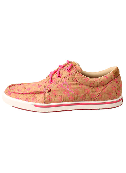 Twisted X Women's Tan & Pink Kicks