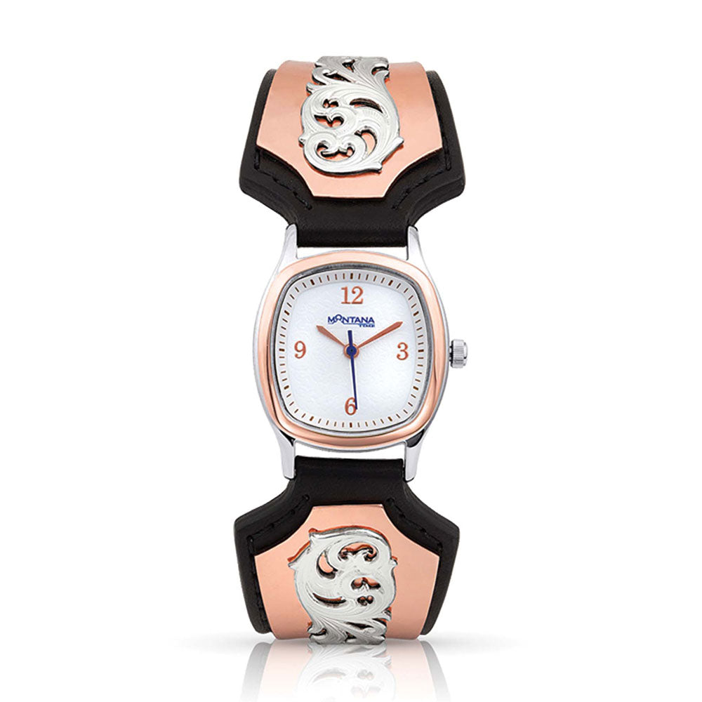 Montana Silversmiths No Boundaries Rose Rock Watch