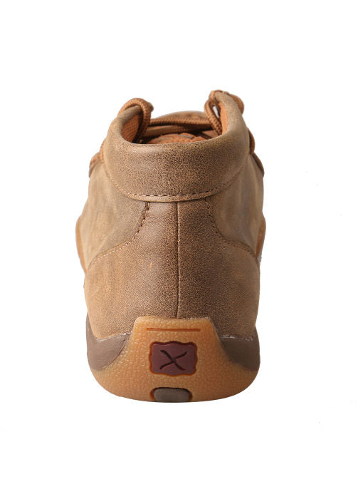 Twisted X Women's Bomber Moc with Tan Checks