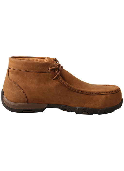 Twisted X Women's Work Steel Toe Chukka Driving Moc