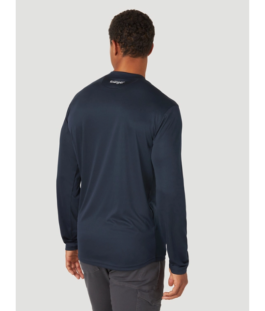 Wrangler Men's ATG Long Sleeve Performance Shirt