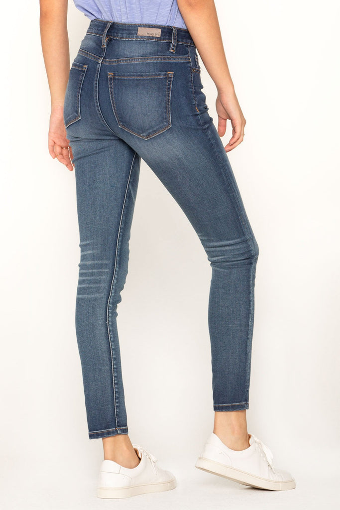 MISS ME WOMEN'S SHAPE OF YOU HIGH RISE SKINNY JEANS