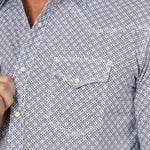 MEN'S WRANGLER PRINT BUTTON DOWN 20X COMPETITION SHIRT