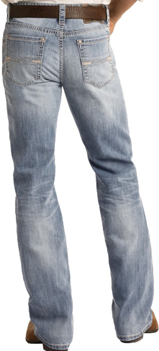 Men's R&R Relaxed Bootcut Jeans - Double Barrel