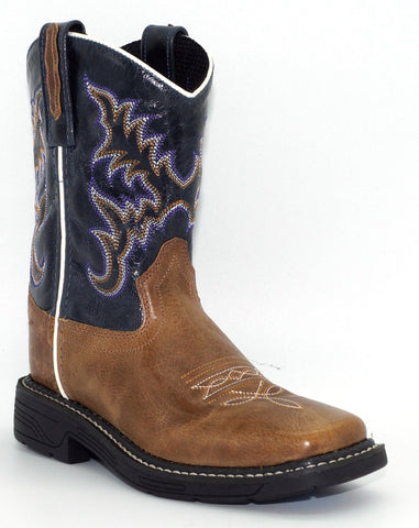Kid's Old West Work Western Boot