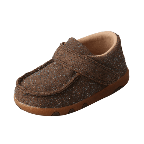 Twisted X Chocolate Shimmer Infant/Toddler Mocs