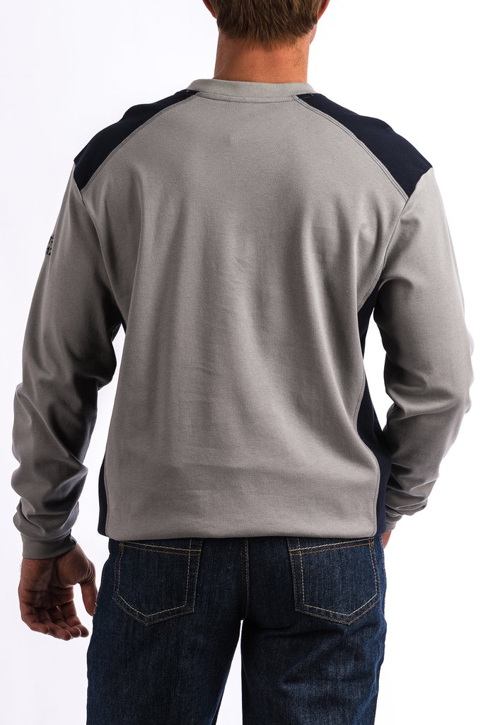 Ariat Men's FR Grey Long Sleeve Shirt