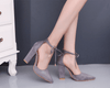 AmazenSave Bag & Shoes / Women's Shoes / Sandals Gray / 43 Simply Pointed Toe High Heel Pumps Shoes