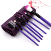 AmazenSave Health & Beauty, Hair / Makeup / Makeup Brushes Violet Makeup Brush Set of 7