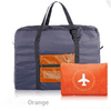 AmazenSave Luggage and Bags Orange Waterproof Foldable Travel Bag