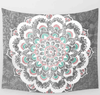 AmazenSave Sports & Outdoors / Swimming / Cover-Ups G / 148*210 Indian Mandala Tapestry Green Blue Flower Beautiful Wall Art Tapestry 210x150cm Bedspread Beach Towel Yoga Blanket Table Cloth