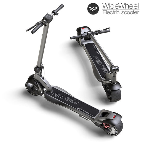 Mercane Wide Wheel Electric Scooter.