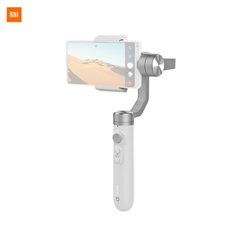 Xiaomi MIJIA SJYT01FM 3 Axis Handheld Gimbal Stabilizer Time-lapse Shooting Smart Track Long Standby for iPhone Samsung Huawei Xiaomi 56-86mm Width Smartphones - WHITE