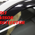 Window visor and wind deflector