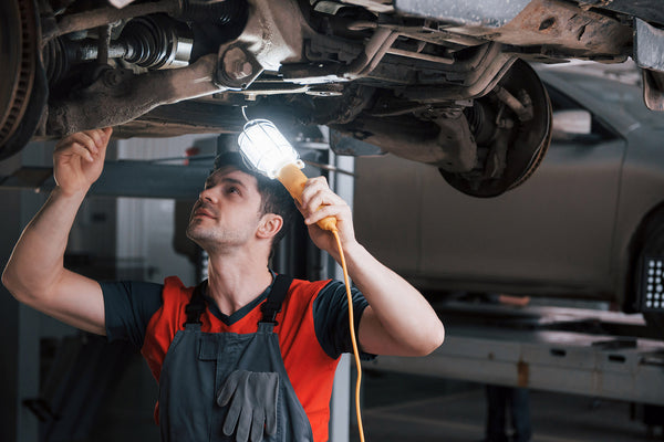 how to check rusty parts