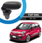 Leatherette Armrest Console For Fiat 500L 2013 > Models Easy Apply, Black