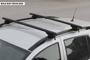 Fit For Volvo Xc90 5Dr Suv Black Top Roof Rack Cross Bars Lockable 2003-2014